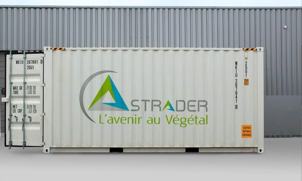 Chambre de culture transportable Strader